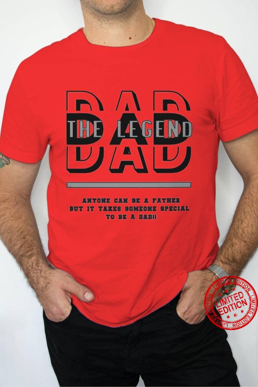 Dad- The Legend Graphic Shirt