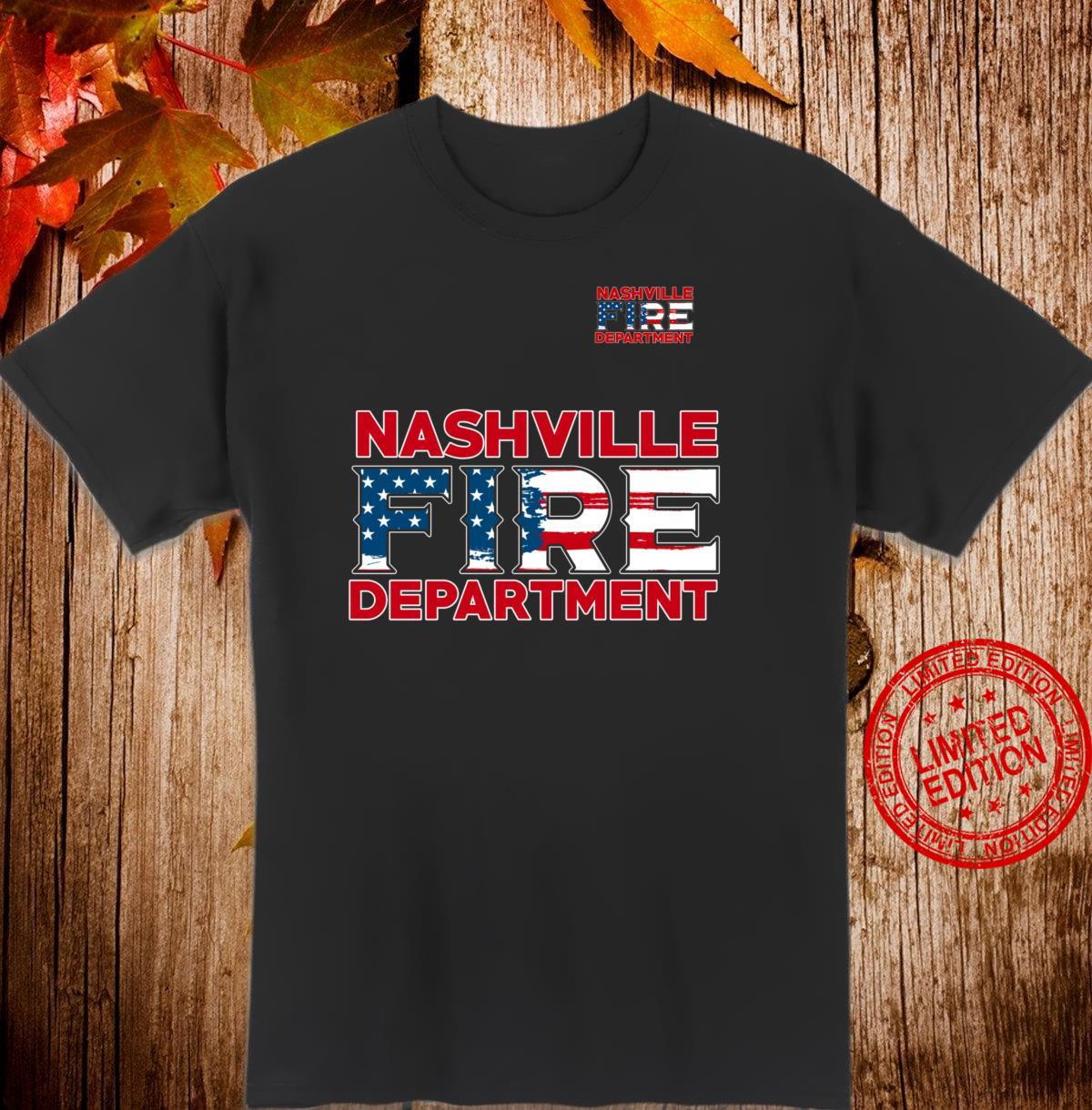 Nashville Tennessee Fire Rescue Department Firefighters Shirt