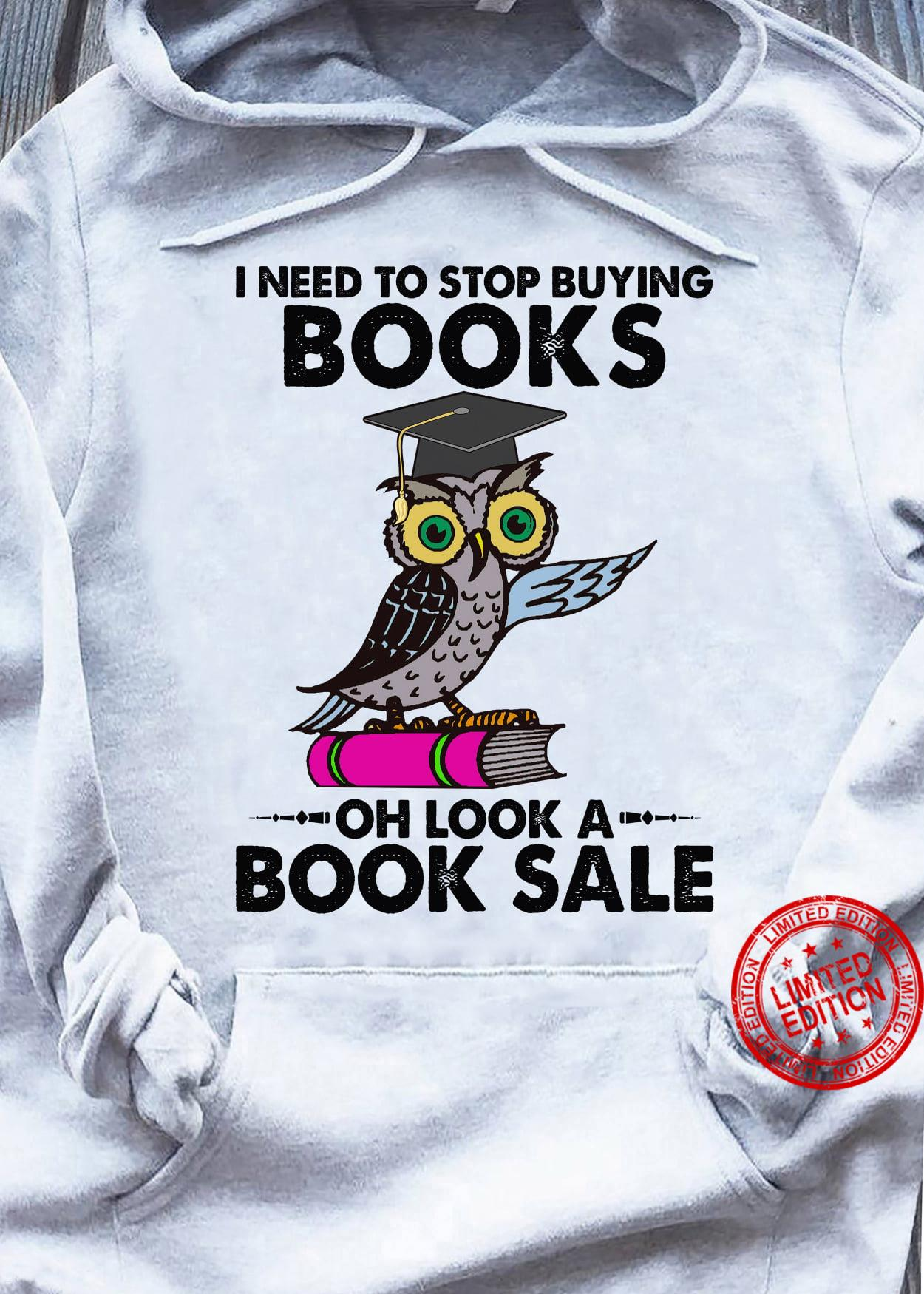 Owl I Need To Stop Buying Books Oh Look A Book Sale Shiract