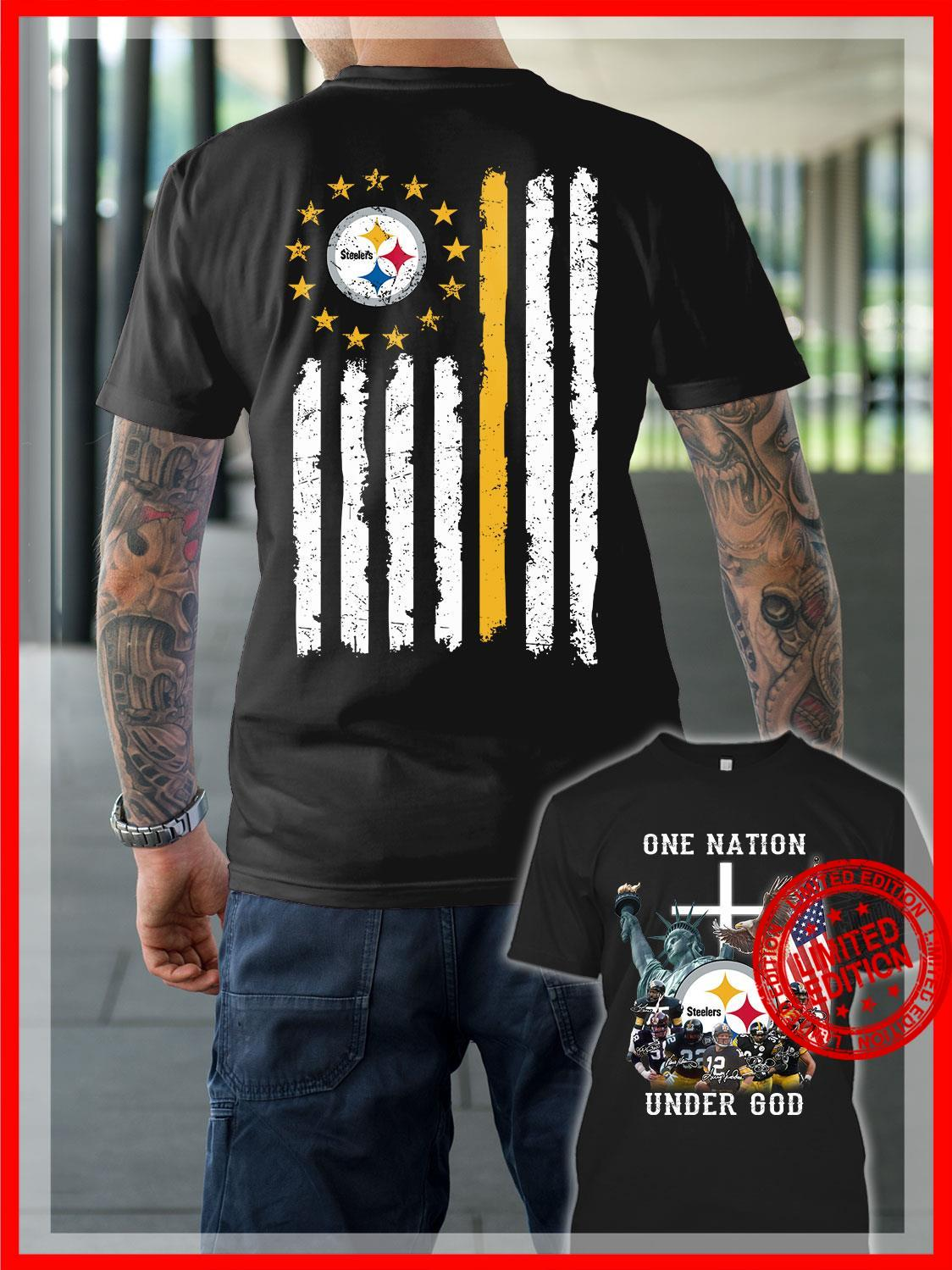 Pittsburgh Steelers American Flag Shirt