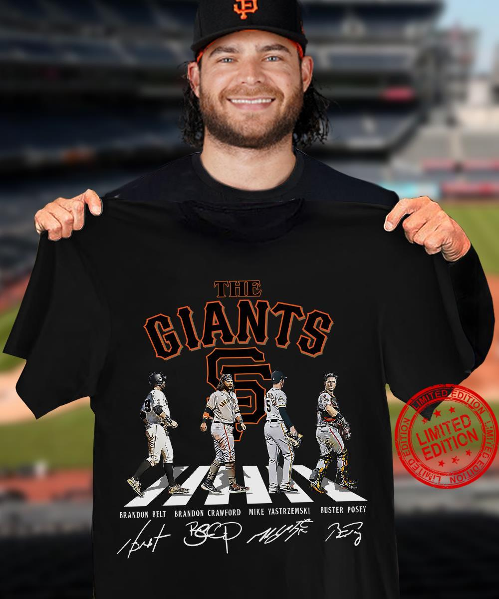 The Giants Abbey Road Shirt