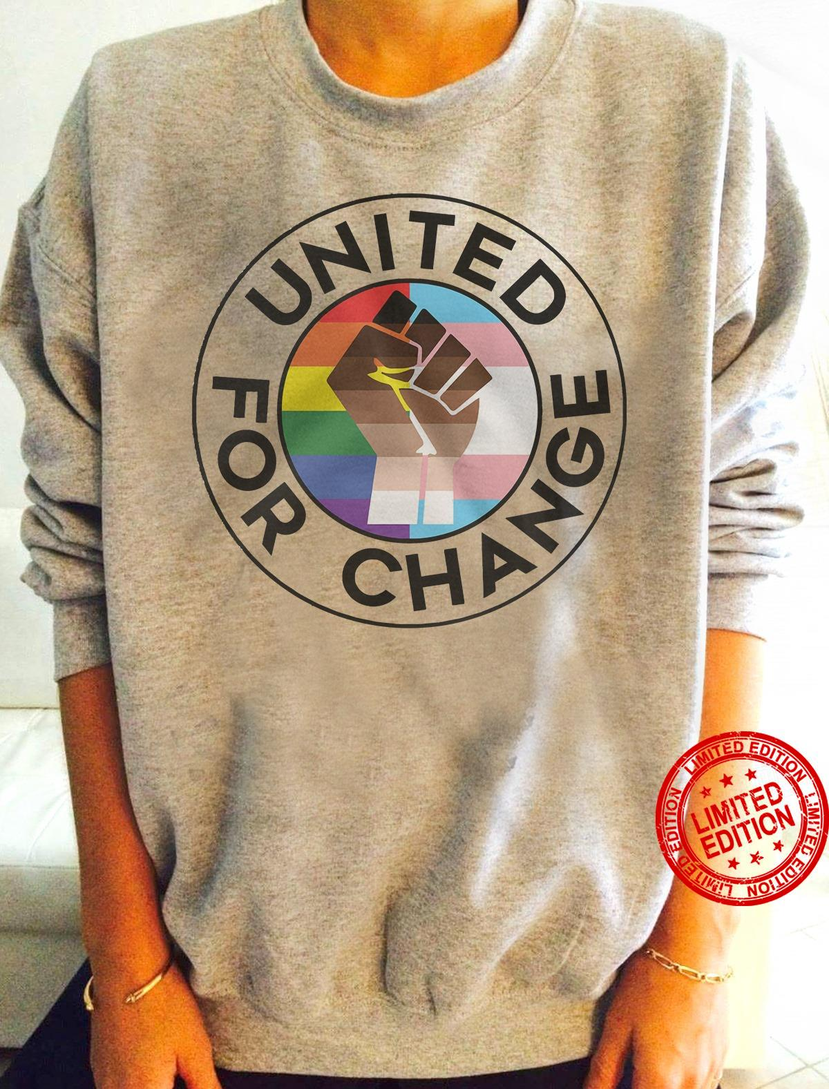 United For Change Shirt