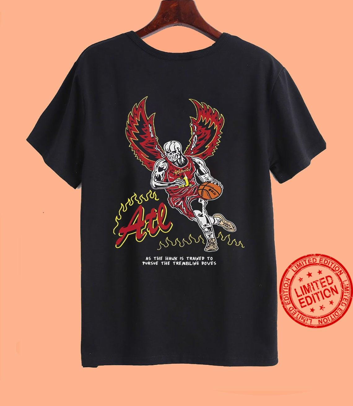Warren Lotas As The Hawk Is Trained To Pursue The Trembling Doves Shirt