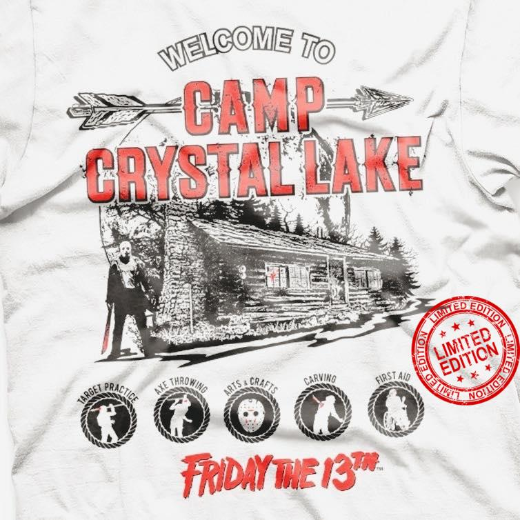 Welcome To Camp Crystal Lake Friday The 13th Shirt