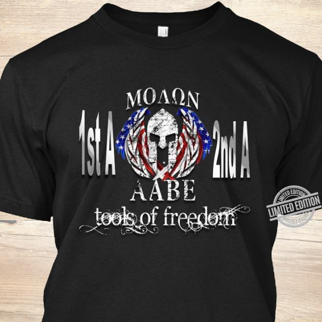 Moaqn 1st A 2nd A Aabe Tool Of Freedom Shirt