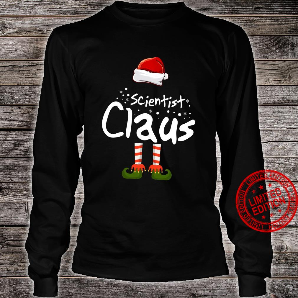 Scientist Claus Shirt long sleeved