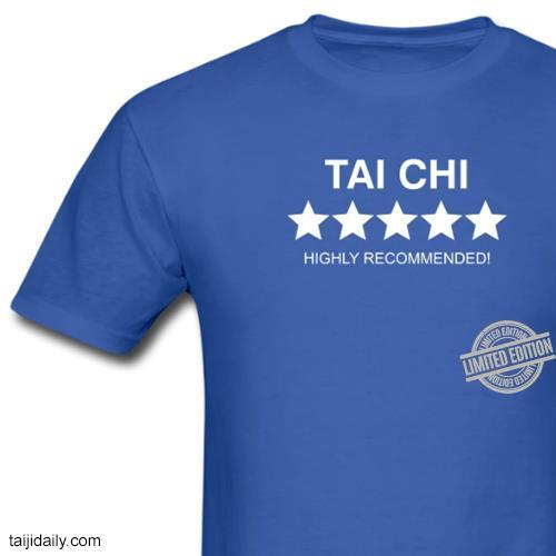 Tai Chi Highly Recommended Shirt