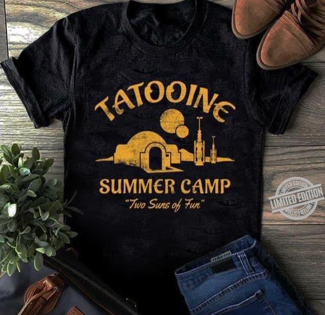 Tattoine Summer Camp Two Suns Of Fun Shirt