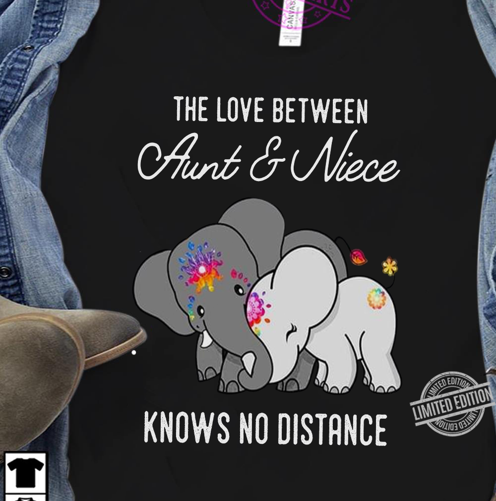 The Love Between Aunt & Niece Knows No Distance Shirt