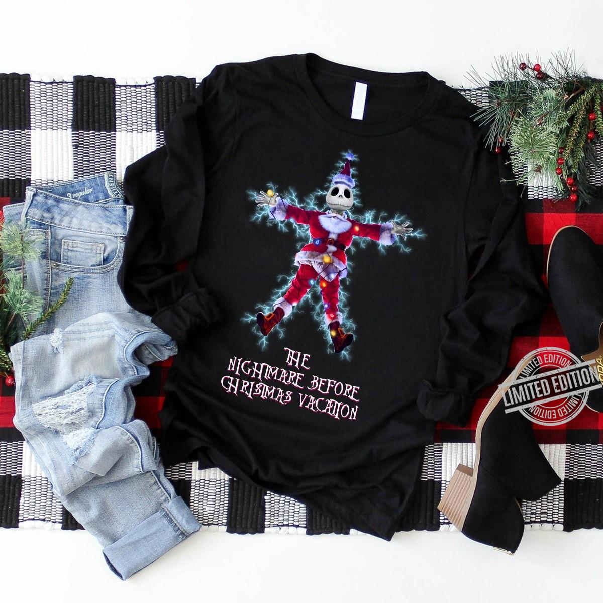 The Nightmare Before Christmas Vacation Shirt